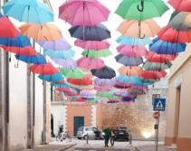 tetto di ombrelli