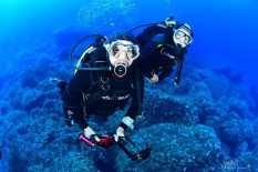 Andrea Comerlati ed Elisa Isotta foto subacquea