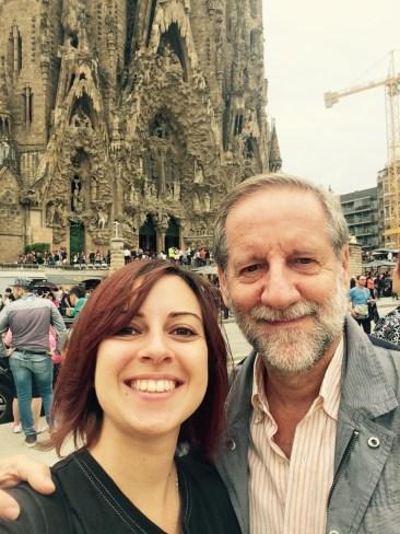 Maria Coluccia col padre