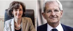 Marta Cartabia e Luciano Violante