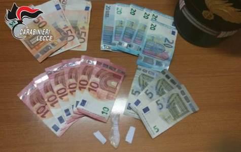 Santa Cesarea Terme, droga e soldi in discoteca