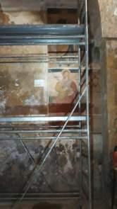 Vereto, il dipinto murale