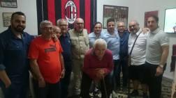 i dirigenti del Milan club Gallipoli con Furio Fedele 2