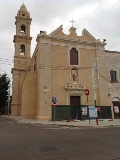 chiesa Madonna del Carmine restaurata
