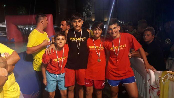Futur Boys, squadra vincitrice categoria under