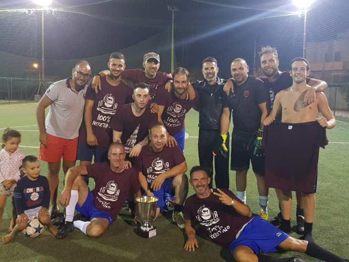 I Neretini, vincitori del torneo