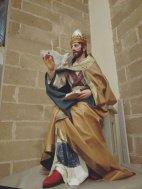 San Gregorio Magno (Statua in Cartapesta)