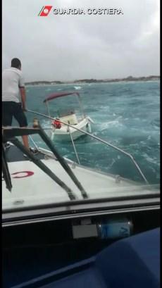 natanti in difficoltà Guardia costiera