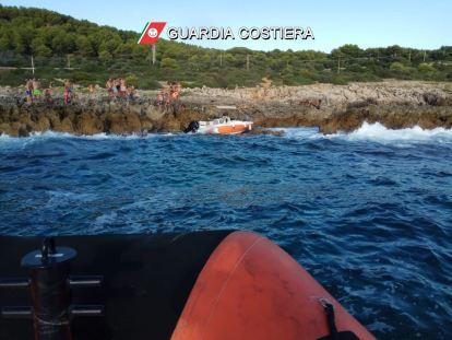 portoselvaggio natante in pericolo soccorsi Nardò