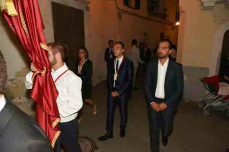 Al centro il presidente Antonio Maggio