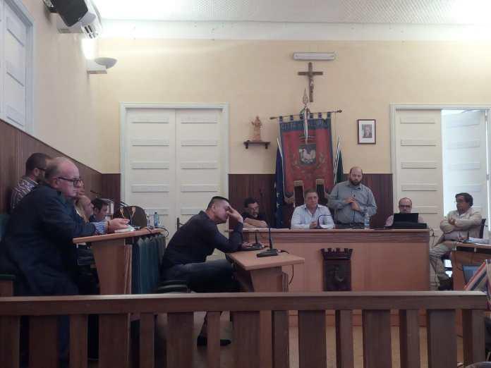 consiglio comunale hallipoli Sindaco Minerva