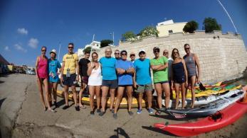 giornata ecologica kayakers 7 S Caterina Nardò