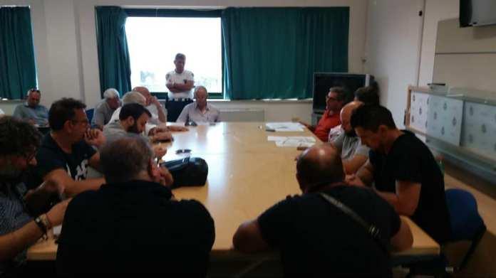 incontro Amministrazione Gallipoli e sindacati servizio rifiuti