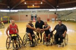 Da sinistra, Spedicato, Calò, Landi, Bortone, Garzya