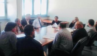 La riunione in Provincia