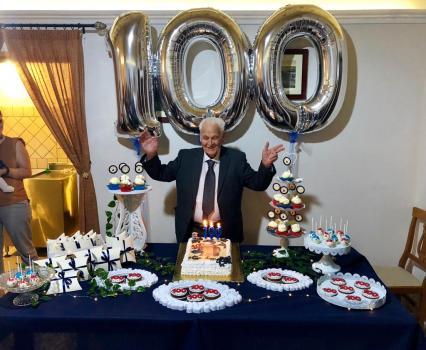 Luigi De Nuzzo, 100 anni Casarano