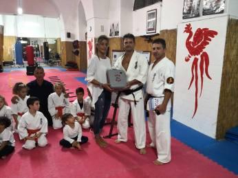 karate defibrillatore