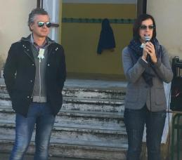 Gli assessori Mino Natalizio e Maria Grazia Sodero
