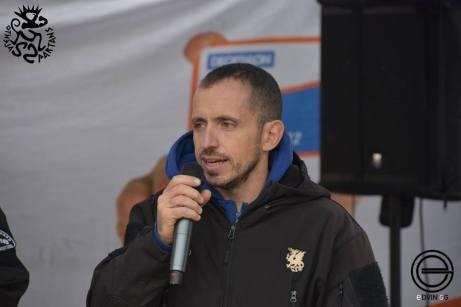 Il neretino Mino Paglialunga, vice presidente della Salento Spartans