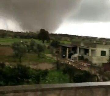 Il tornado visto da Corsano