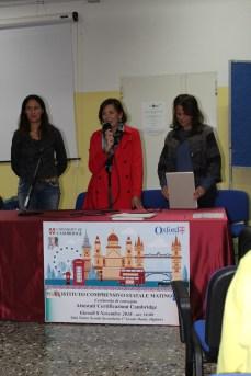 Emily Turino, Giovanna Marchio, Barbara Magagnino