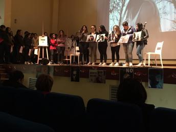 Casarano, istituto Montalcini, giornata contro la violenza sulle donne (4)