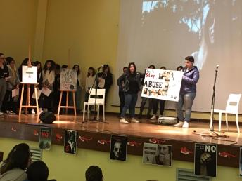 Casarano, istituto Montalcini, giornata contro la violenza sulle donne (5)