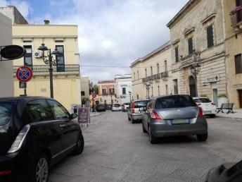 Casarano, traffico in centro