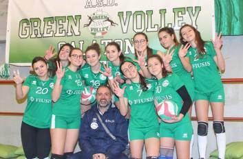 Le ragazze della Green Volley