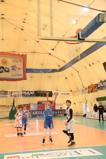 Trofeo Caroli basket under 14, una gara a Casarano