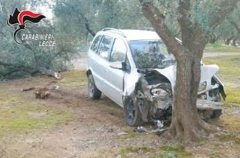 L'incidente sulla Otranto - Martano (1)