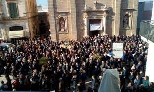 Castrignano del Capo, i funerali di Francesca Schirinzi