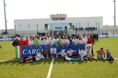 Trofeo Caroli, il Valencia vince la finale di Parabita
