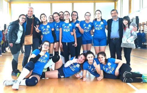 Le campionesse regionali di pallavolo del Comprensivo Alessano-Specchia