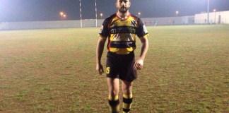 Fabio Manta della Salento Rugby Aradeo