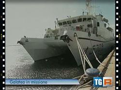 La Galatea della Marina militare