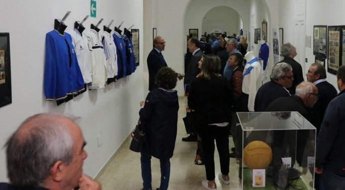 Casarano, la mostra Un secolo d'azzurro (foto Pejrò)