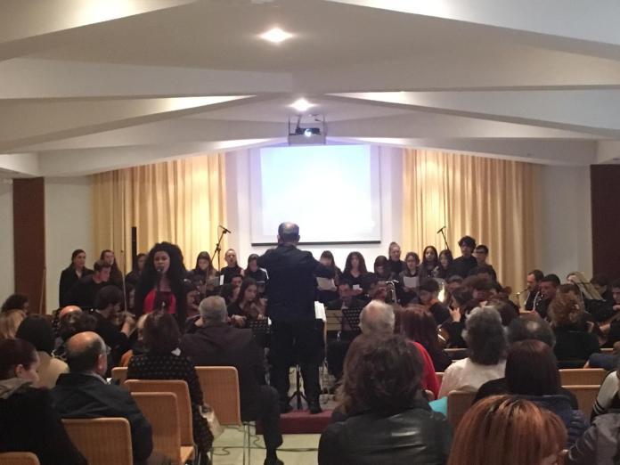 """L'orchestra del liceo musicale """"Giannelli"""" di Parabita"""