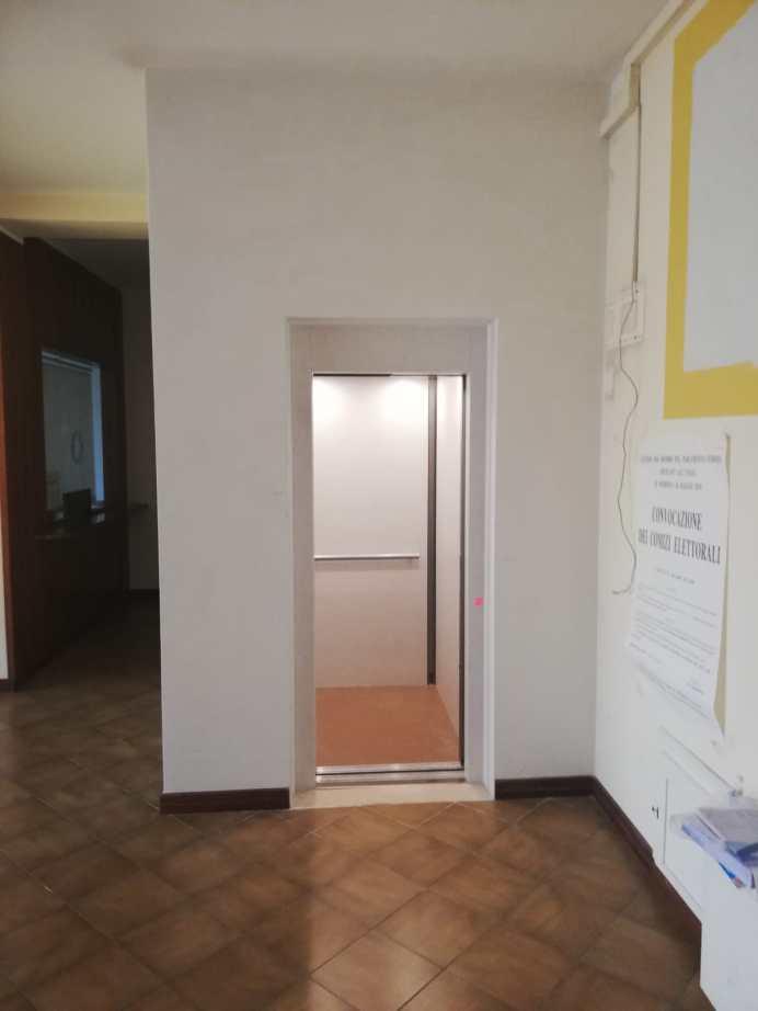 Gagliano del Capo, l'ascensore del Municipio