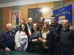 Parabita, l'insediamento del nuovo sindaco Stefano Prete