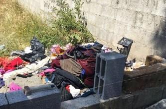 Taviano, rifiuti abbandonati in zona Madonna delle Rine