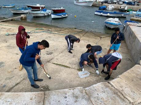scalo Canneto Gallipoli pulizie 3