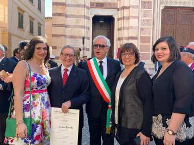 Claudio Pacella premiato a Grosseto