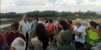Inaugurazione sito Roca vecchia