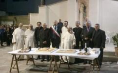 La festa per fra' Vito nel cortile della basilica