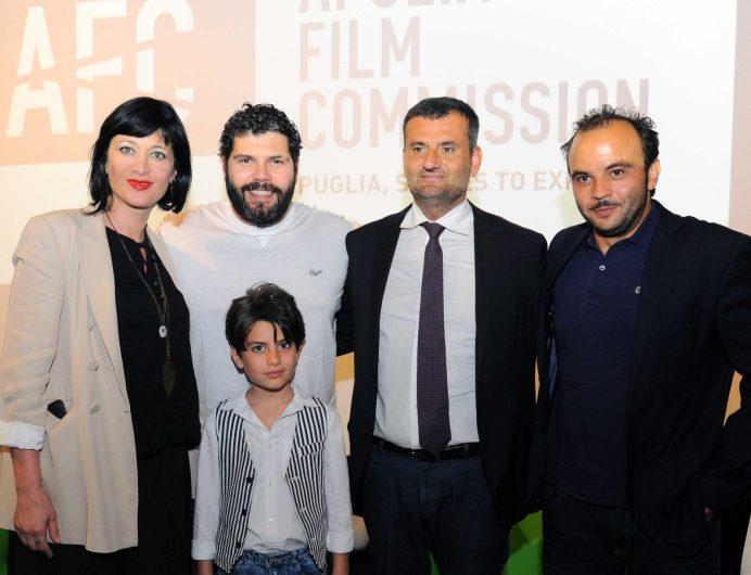 """Samuele Carrino alla presentazione del film """"Spaccapietre"""""""