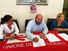 Il presidente Minerva firma il Coordinamento provinciale antifascista