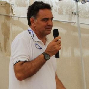 Il presidente della Lega navale di Torre San Giovanni Vincenzo Conte