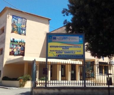 La sede di Alezio dell'Istituto comprensivo
