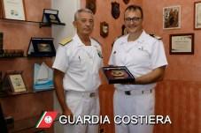 L'ammiraglio Giovanni Pettorino e il comandante Pasquale Mazza